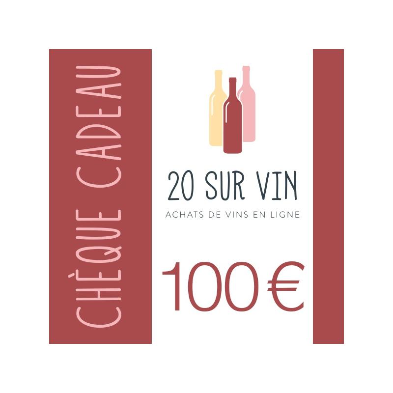 Chèque cadeau 100 EUR