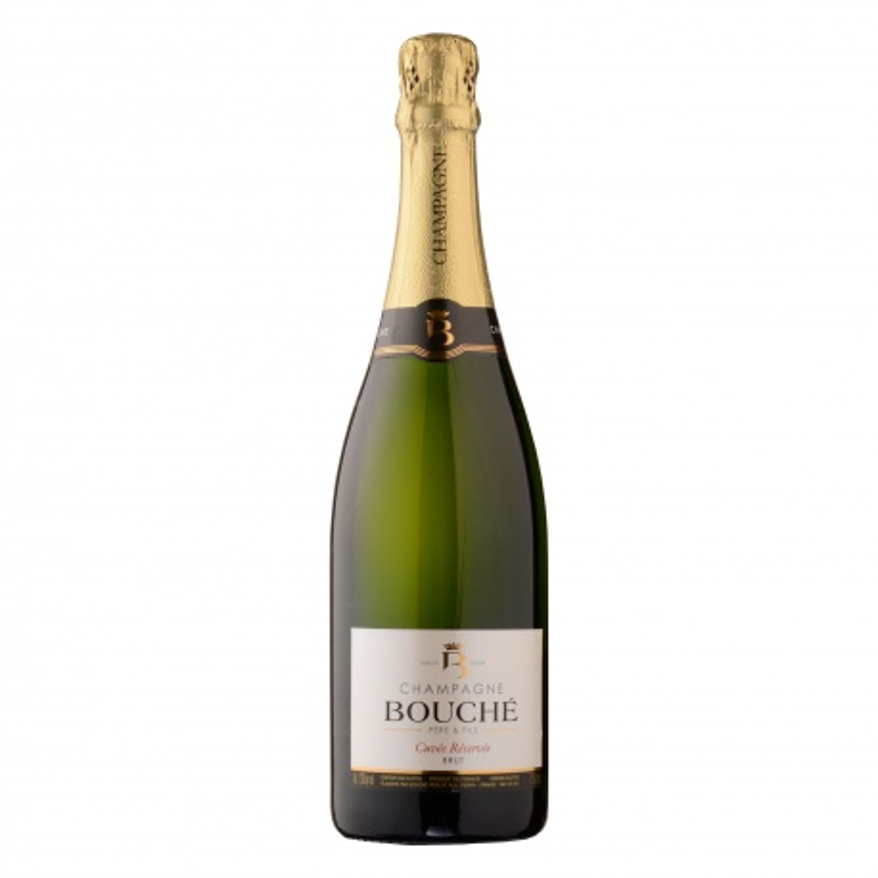 Champagne Bouché Père et Fils cuvée réservée Brut